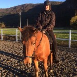 Rideundervisning på Kyrksæterøra